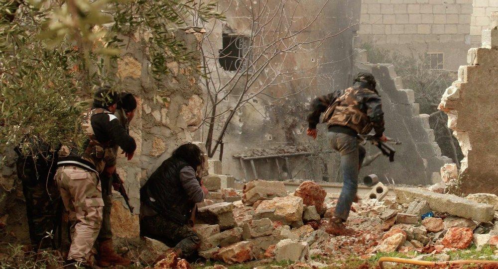 Ozbrojenci použili v Aleppu chemické zbraně.