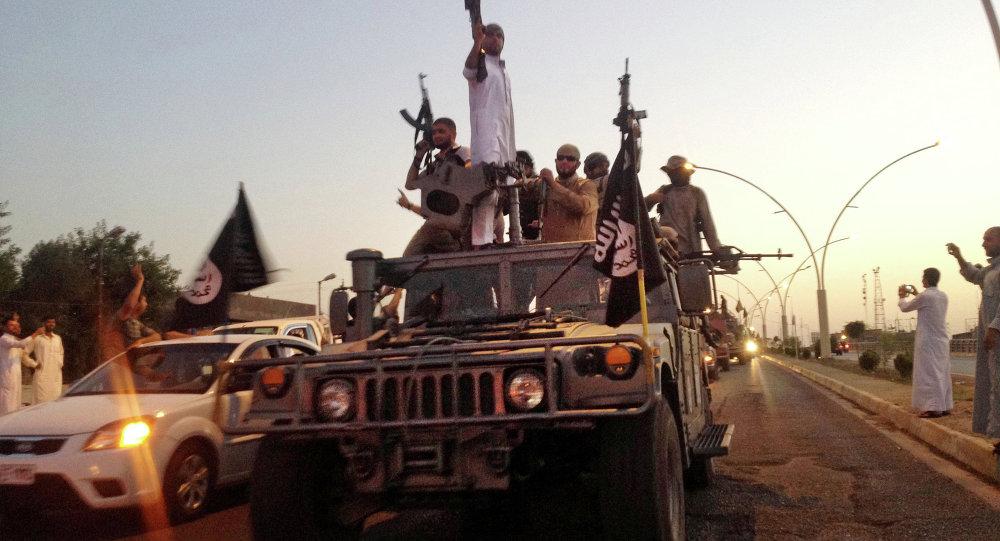 Bojovníci v Mosulu