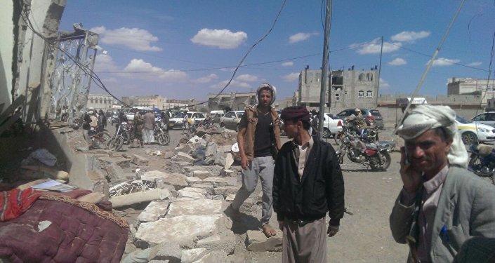 Jemen během vojenské operace