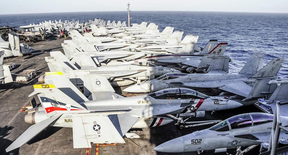Americká letadlová loď USS Ronald Reagan