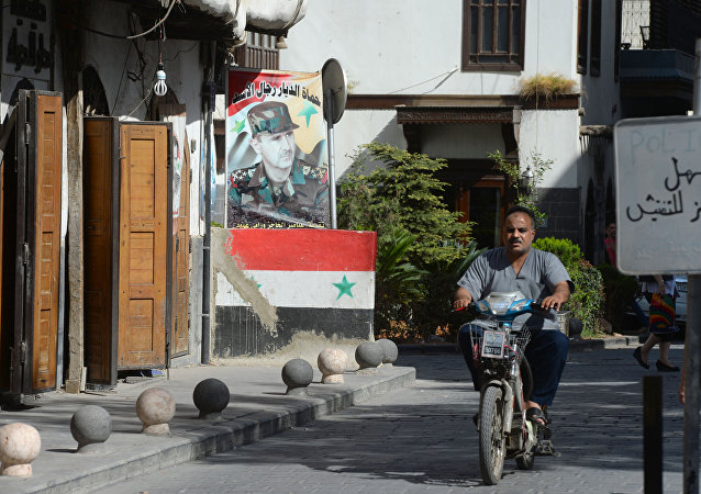 Situace v Sýrii. Damašek