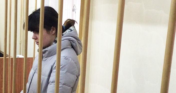 Studentka Moskevské státní univerzity M. V. Lomonosova  Varvara Karaulovová