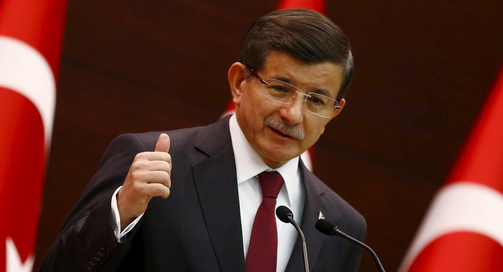 Ministerský předseda Turecka Ahmet Davutoglu