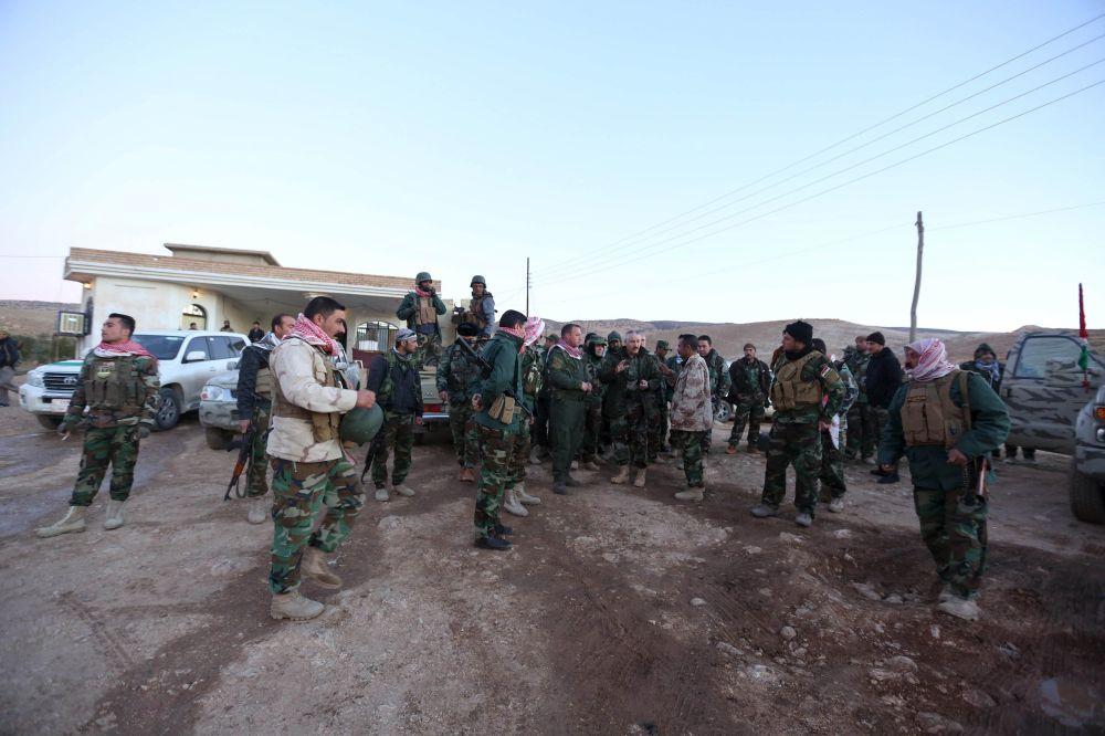 Útok kurdské armády na bojovníky IS