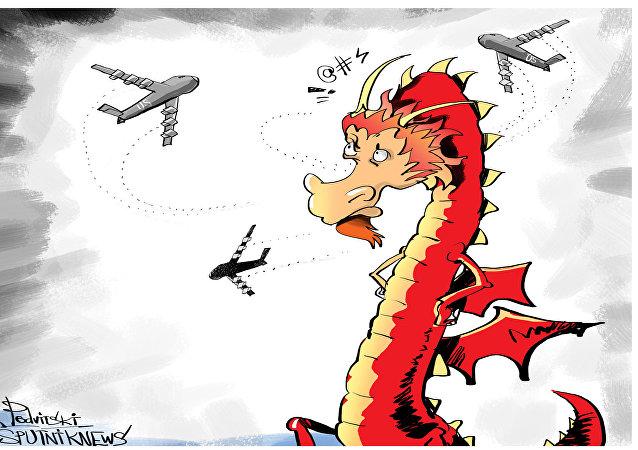 Americké bombardéry nad Jihočínským mořem: výzva Číně?