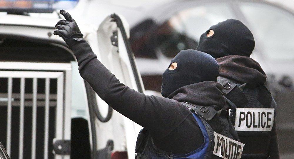 Belgická policie v Molenbeeku