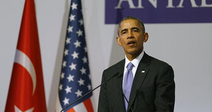 Barack Obama na summitu v Turecku