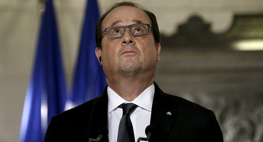 Prezident Francie Francois Hollande