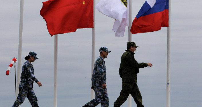 Rusko-čínská cvičení