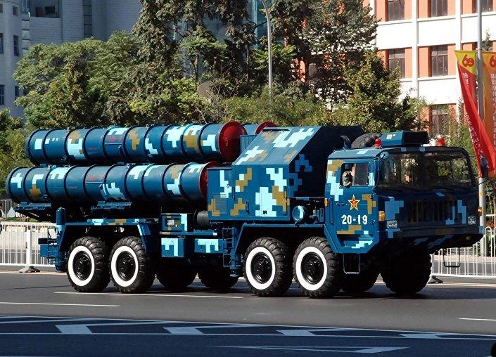 Čínský protiletadlový systém HQ-9