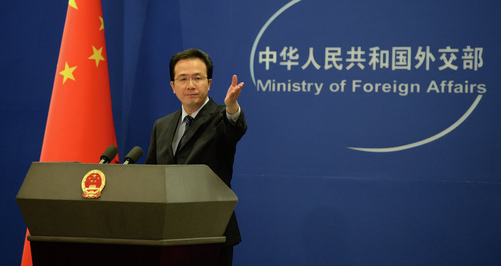 Oficiální mluvčí čínského ministerstva zahraničních věcí Hong Lei