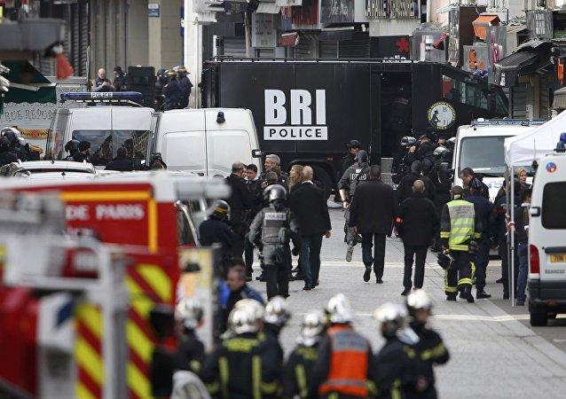 Policejní operace ve Francii