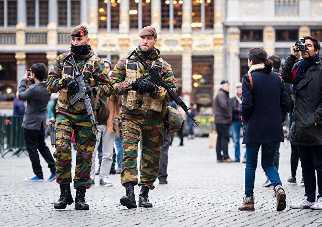 Belgičtí vojáci