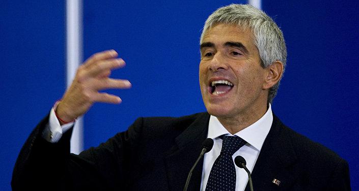 Předseda zahraniční komise italského senátu Pier Ferdinando Casini