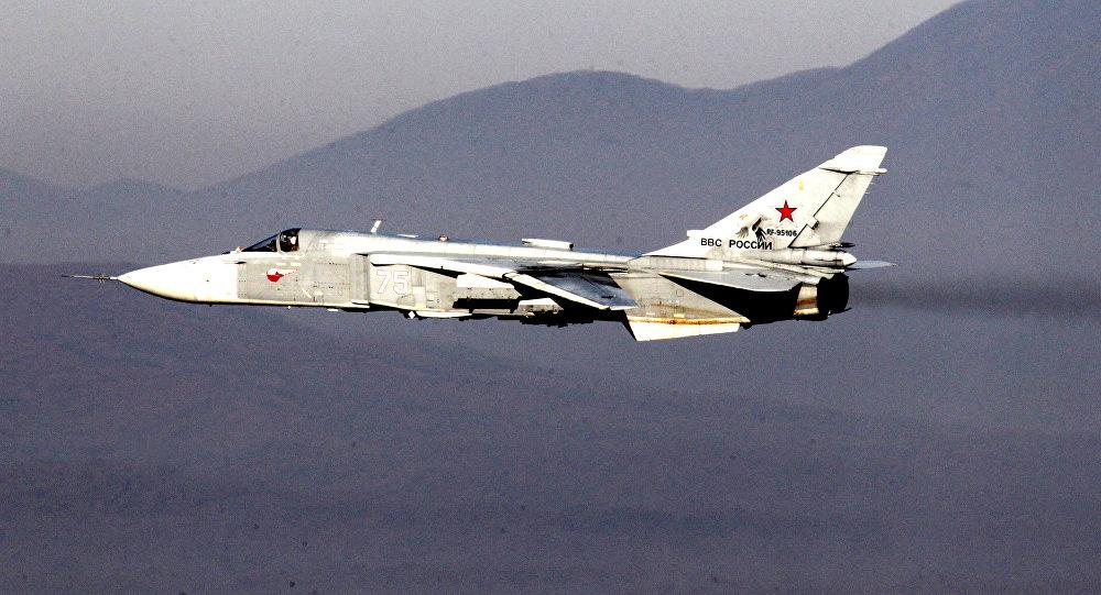 Bombardér Suchoj Su-24