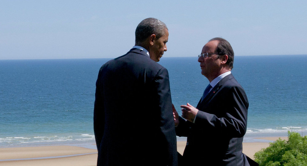 Barack Obama a François Hollande