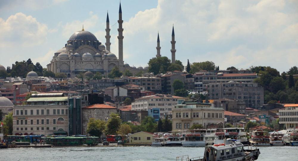 Pohled na Istanbul