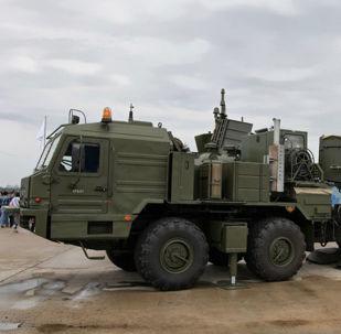 Systém radioelektronického boje (REB) Krasucha-2