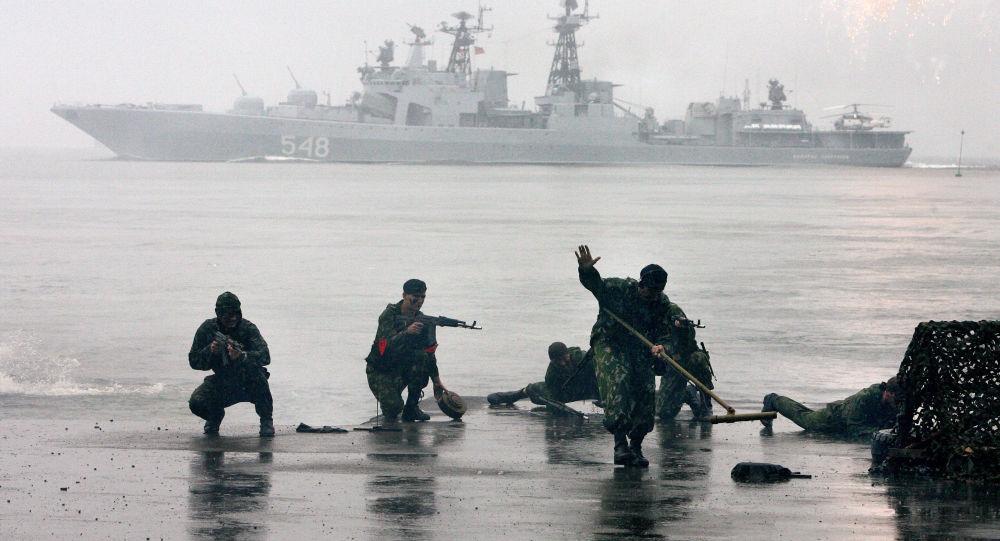 Námořní pěchota hájí zájmy Ruska na všech oceánských bojištích