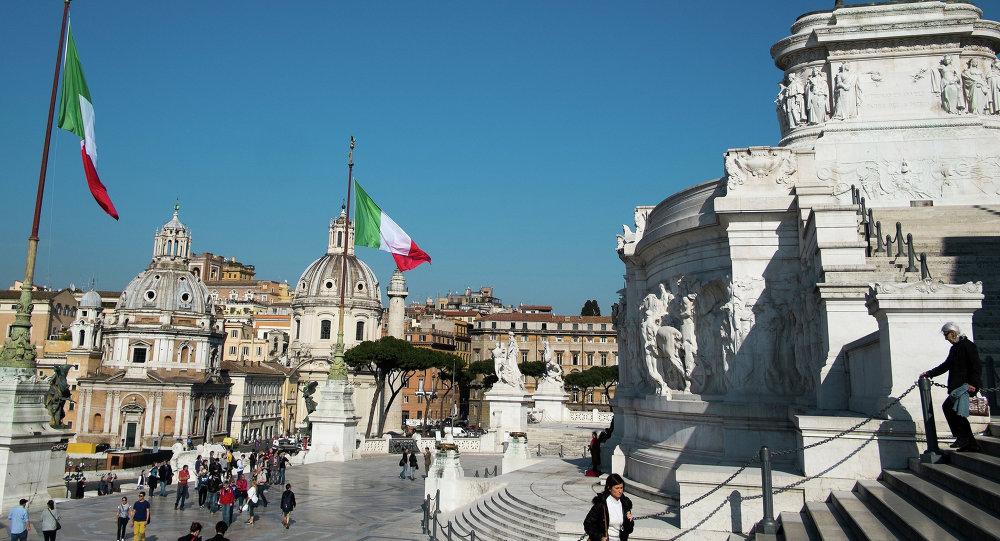 Benátské náměstí v Římě