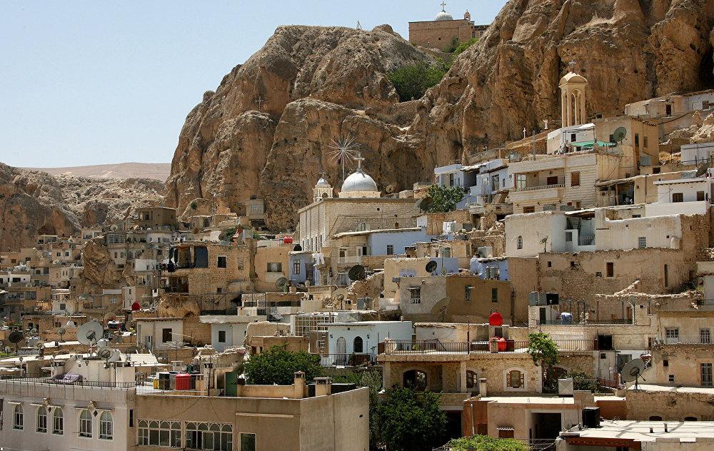 Křesťanská obec Maalula.
