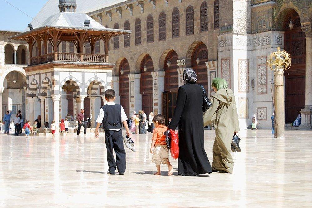 Umajjovská mešita v Damašku.