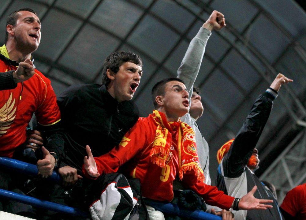 Fanoušci Černé Hory