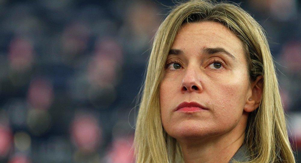 Šéfka unijní diplomacie Federica Mogheriniová