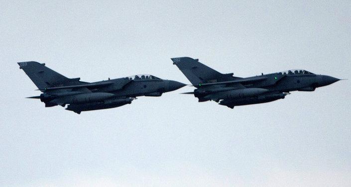 Velká Británie znovu zasadila letecké údery v Sýrii