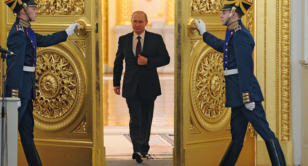 Poselství Putina Federálnímu shromáždění