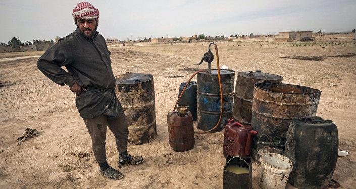 Nádrže s ropou, Sýrie