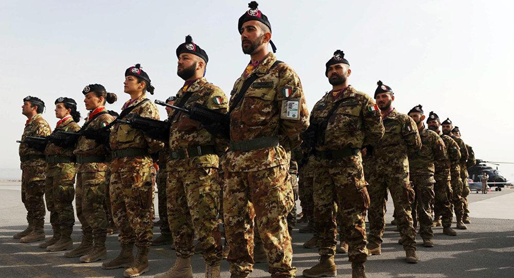 Italští vojáci