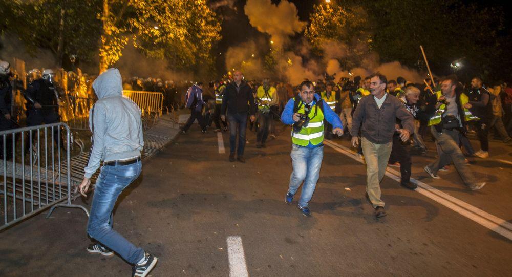 Nepokoje v Černé Hoře