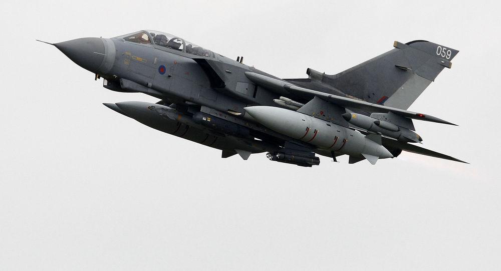 Britské letadlo Tornado