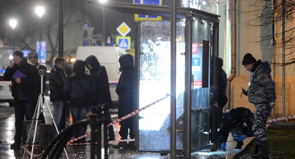 Výbuch v Moskvě