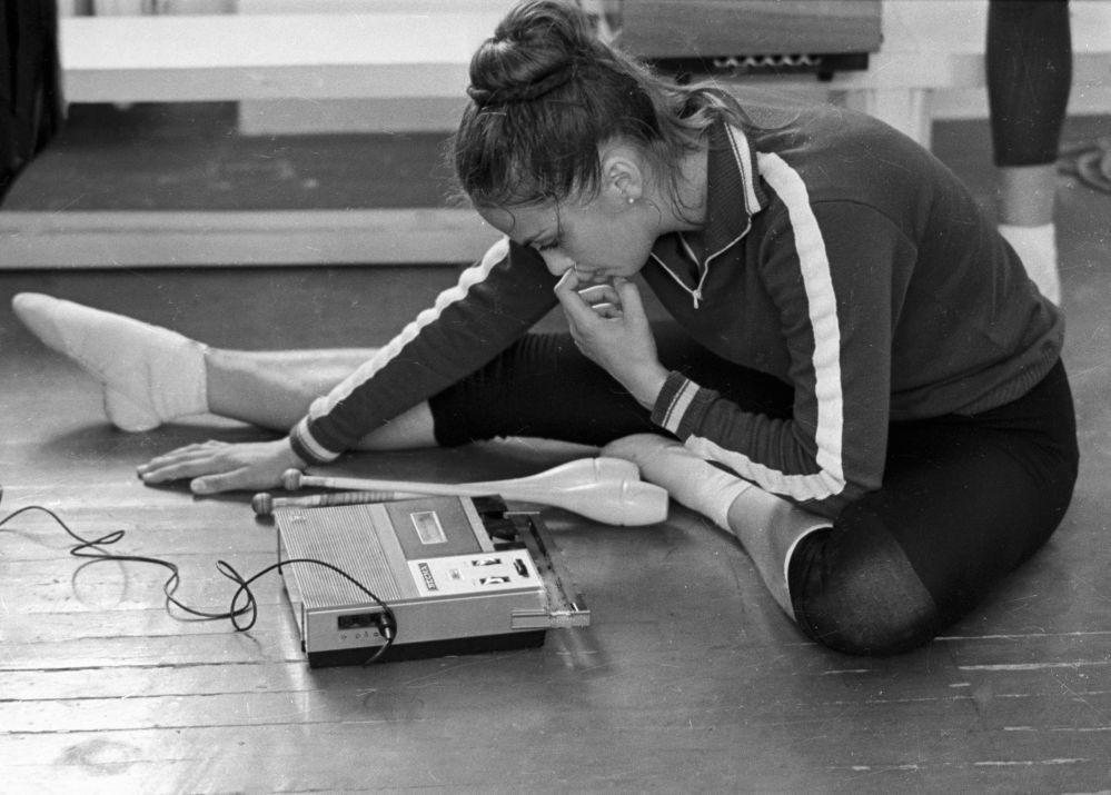 Sovětské gymnastky: krása, grácie, železná výdrž