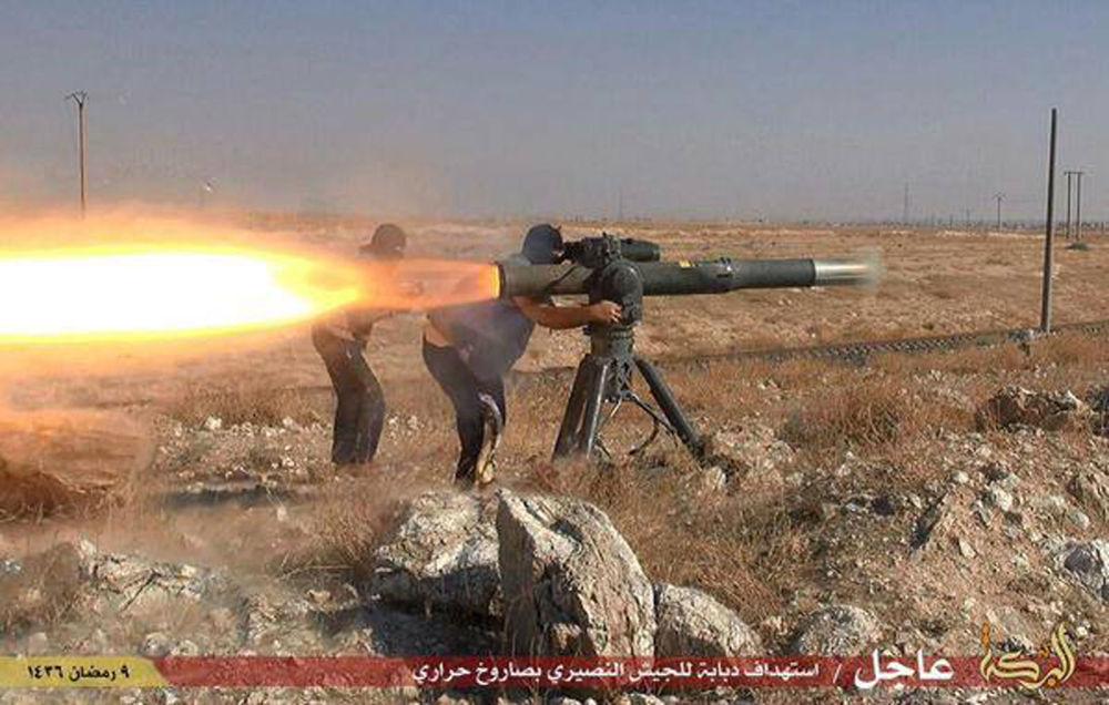 Zbraně bojovníků Daiš
