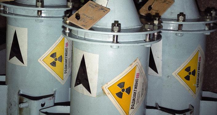 Kontejnery s jaderným palivem