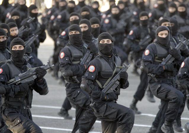 Saúdskoarabští příslušníci speciálních jednotek