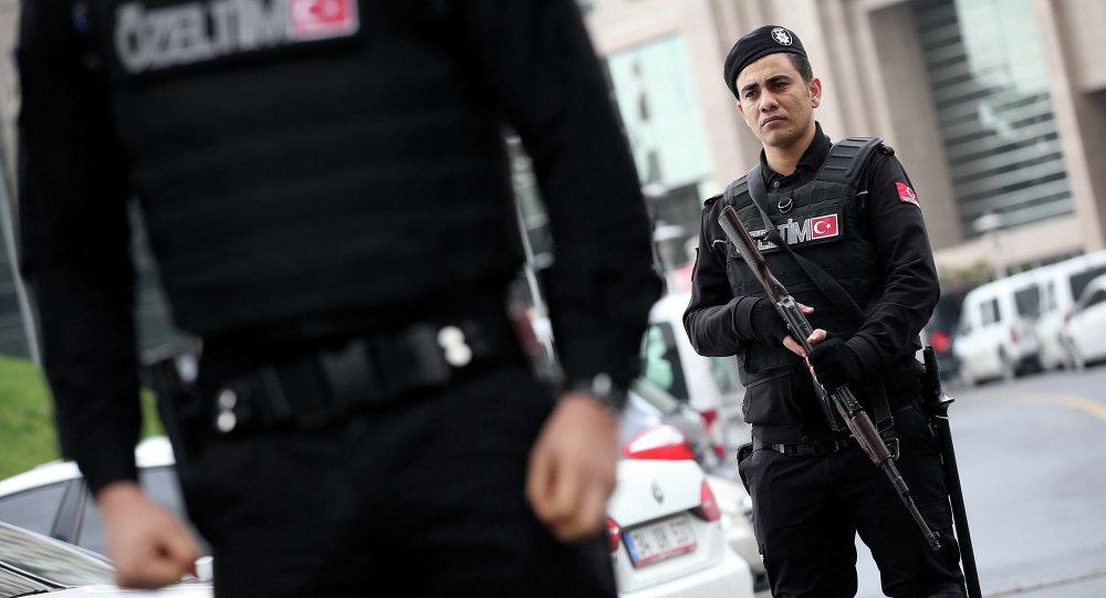 Turecká policie