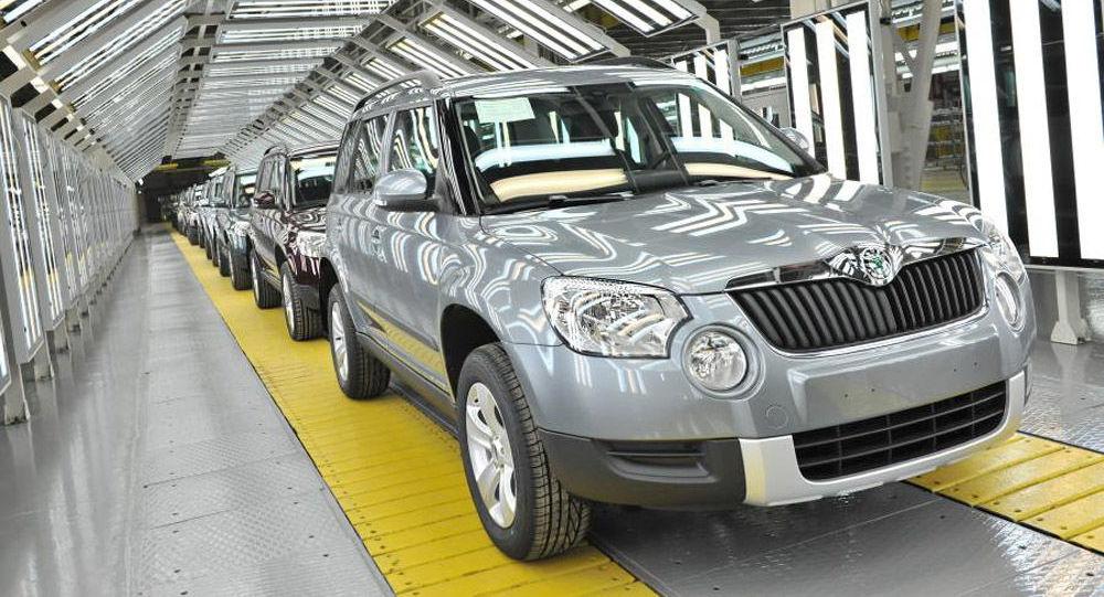 Na závodě se vyrábí Škoda Yeti