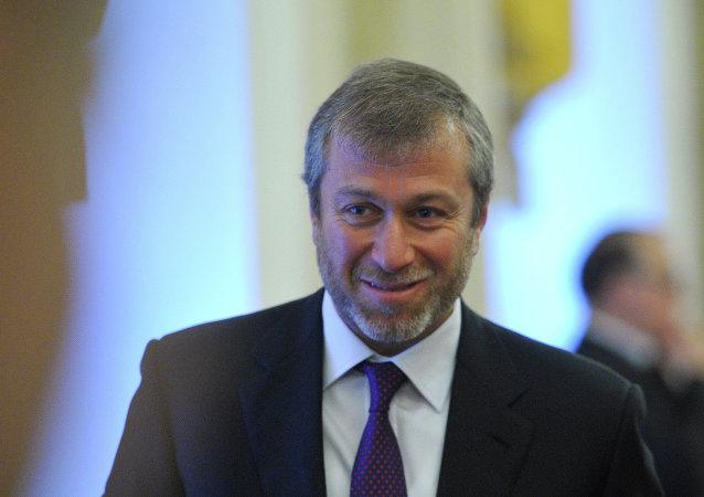 Ruský byznysmen Roman Abramovič