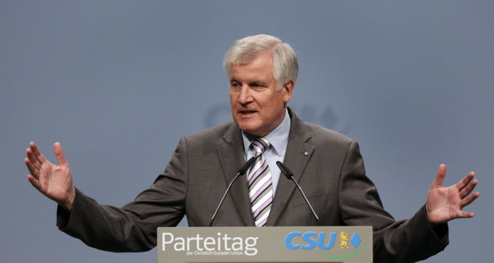 Premiér spolkové země Bavorska Horst Seehofer