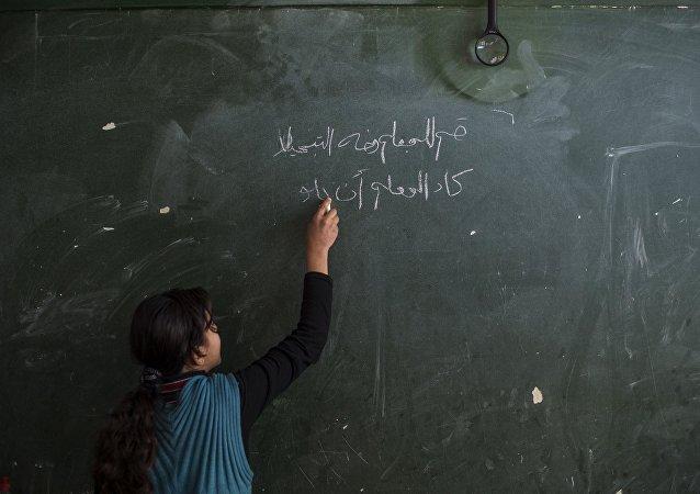 Škola v Sýrii
