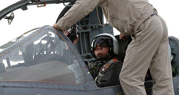 Ruský letec v Sýrii
