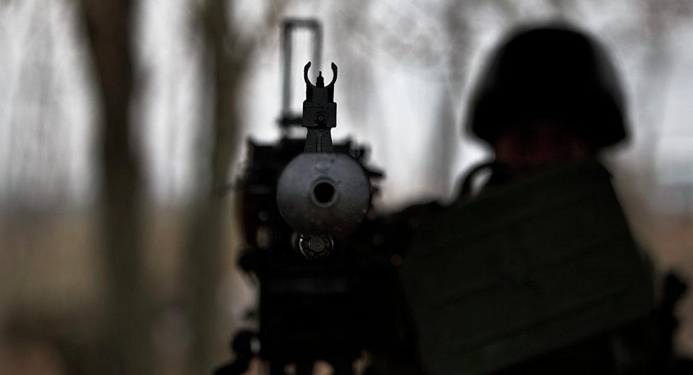 Ukrajinský voják. Ilustrační foto