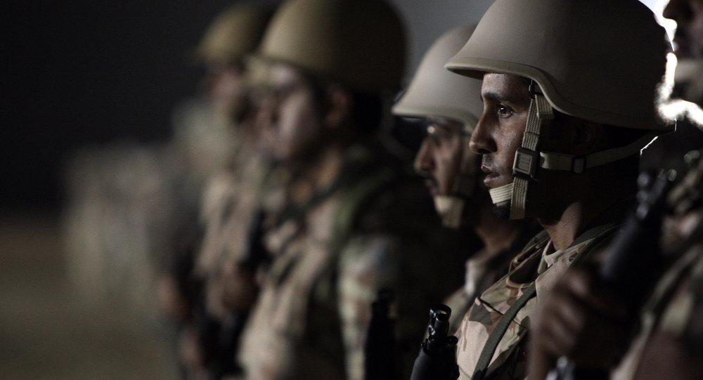Vojáci Saúdské Arábie