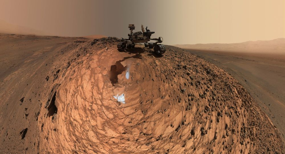 Marťanské vozítko Curiosity