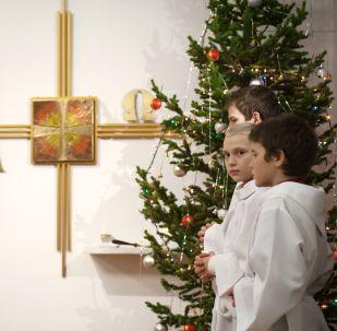 Katolické vanoční oslavy