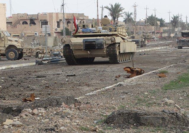 Iráčtí vojáci v Ramádí